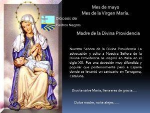 MES DE MAYO, MES DE MARÍA DÍA 24