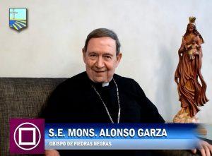 """MONS. ALONSO GARZA EXPLICA LAS """"5 LETRAS DE MARÍA"""""""