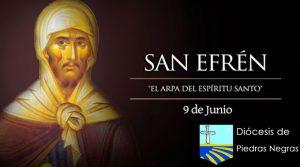 """Hoy es fiesta de San Efrén, """"el arpa del Espíritu Santo"""""""