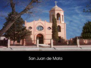 SAN JUAN DE MATA (ALLENDE)