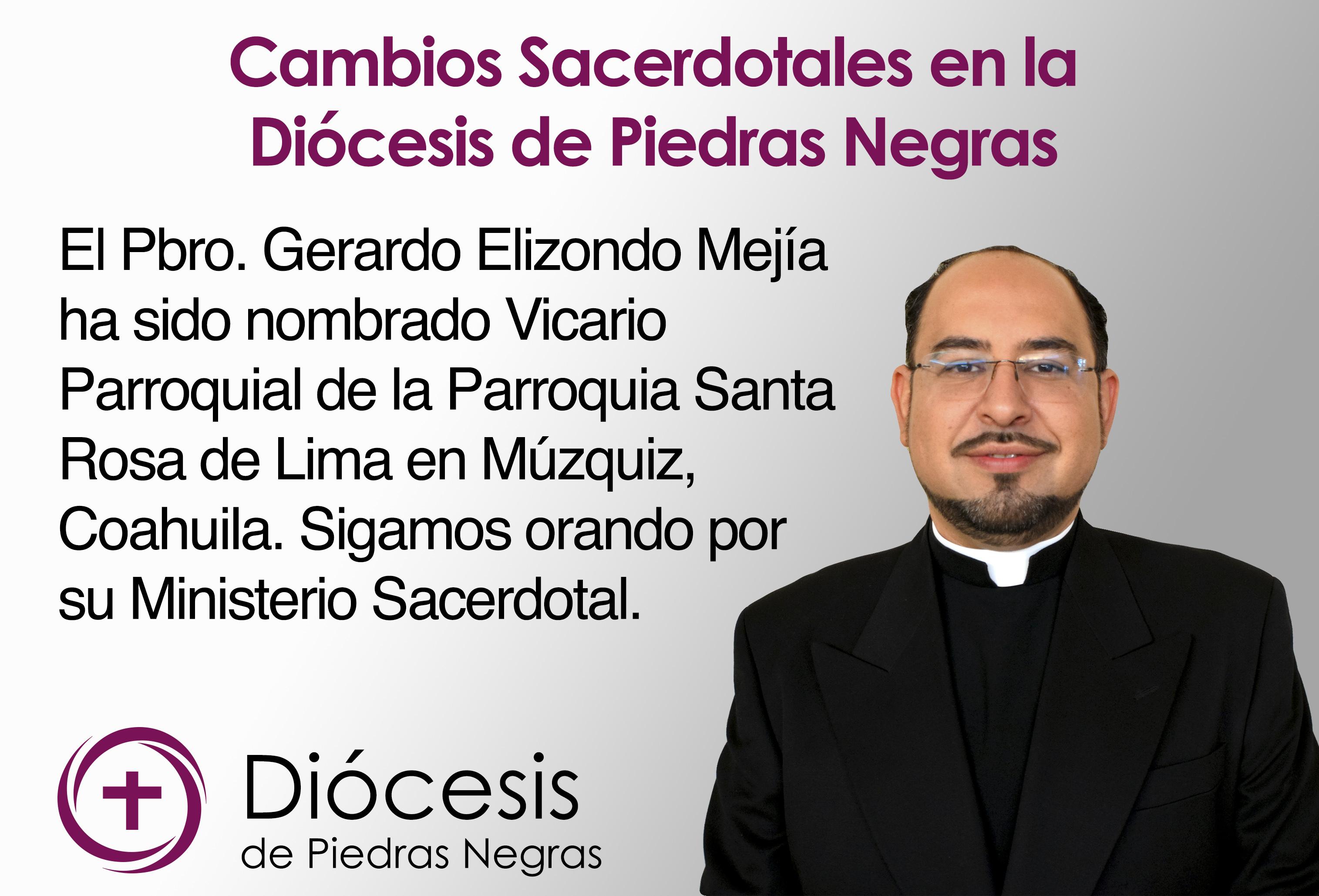 cambios sacerdotales ger