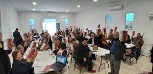 GALERIA: ASAMBLEA PARROQUIAL EN CATEDRAL DE PIEDARS NEGRAS