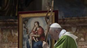 Papa invita a pedir al Señor con sencillez, y en familia, que bendiga nuestra vida