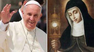Papa: Imiten el ejemplo de Santa Clara para responder a la llamada del Señor