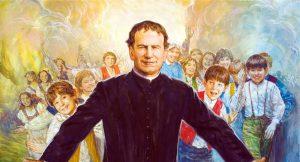 Hoy recordamos el nacimiento de San Juan Bosco, padre y maestro de la juventud