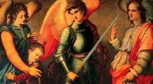 Hoy se inicia la novena a los Santos Arcángeles Miguel, Gabriel y Rafael